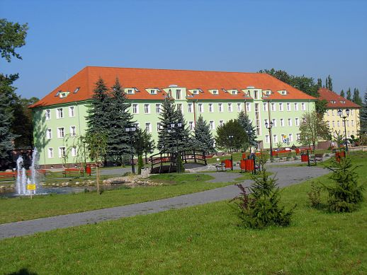 Budynek Starostwa Powiatowego w Krośnie Odrzańskim ul.Piastów 10B